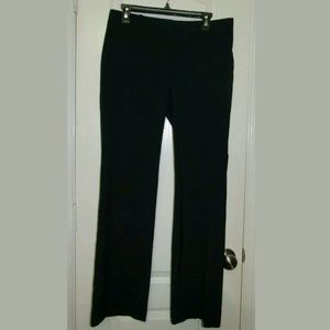 6 Ann Taylor Blue Boot Career Pants